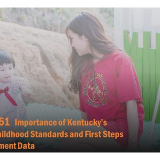Course catalog for ECE 151 features a woman speaking to a child on a swing