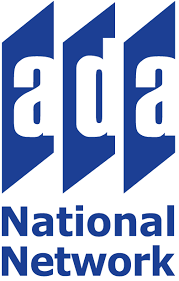 "logo reading ""ADA National Network"""