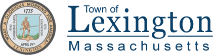 "Logo reading ""Town of Lexington Massachusetts"""